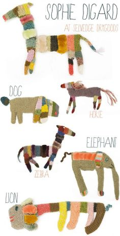 Sophie Digard animals