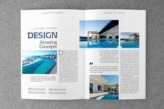 Magazine & Brochure Templates on Behance