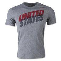2015 USA Soccer Team Core T-Shirt [B138]