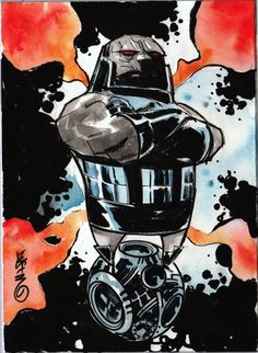 Darkseid by Dustin Nguyen