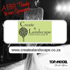 Thanks to Create a Landscape for your sponsorship! We appreciate your support!  Visit them on www.createalandscape.co.za #TMSA17 #TMSASponsor