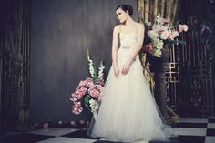 Christelle by Kobus Dippenaar's Anna Georgina Collection 2014 Blush Bridal, Bridal Gowns, Wedding Gowns, Bridal Collection, Dress Collection, African Fashion Designers, Vogue, Mod Wedding, Wedding Blog