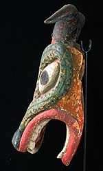Mexican Devil mask, Pastorela dance, Guanajuato, Mexico; another wonderful profile