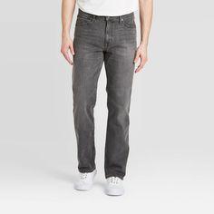 Men's Straight Jeans - Goodfellow & Co Black Men's Skinny Fit Jeans, Slim Jeans, Faded Jeans, Fade To Black, Tapered Jeans, Black Denim, Street Wear, Streetwear Men, Vintage Grunge