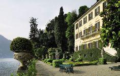 Versace's beloved Villa Fontanelle in Moltrasio, Lake Como, Italy