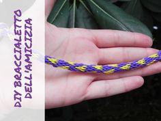 DIY Braccialetto dell'amicizia con cuori - bracelet wheel - Firendship b...
