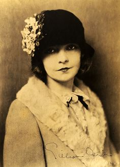"Lillian Diana Gish (October 14, 1893 – February 27, 1993[1]) was an American stage,[2] screen and television actress, director and writer whose film acting career spanned 75 years, from 1912 to 1987. Gish was called The First Lady of American Cinema. She was a prominent film star of the 1910s and 1920s, particularly associated with the films of director D. W. Griffith. ""A happy life is one spent in learning, earning, and yearning."""