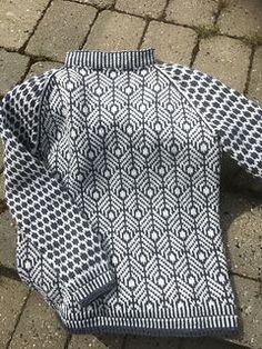 Kornmogenser pattern by Pøbelstrikk by Lene del Otero Fair Isle Knitting Patterns, Fair Isle Pattern, Knit Patterns, Stitch Patterns, Norwegian Knitting, Fair Isles, Pulls, Hand Knitting, Knitting Machine