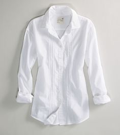White shirt - you can never have too many in your closet.