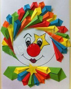 Crea divertidas manualidades usando papel de color o cartulina y pasa horas entretenidas junto con tus niños. Solo es cuestión de doblar y p...