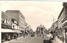 POSTCARD BOUGHT 1959: Ashford, Kent by allhails, via Flickr