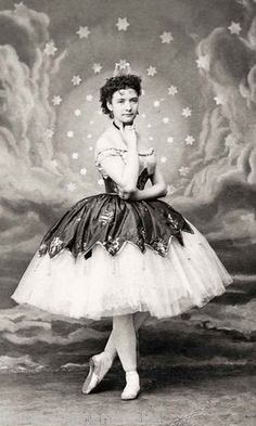Photo Print Woman in Ballet Dress Ballerina 1860s Repro | eBay
