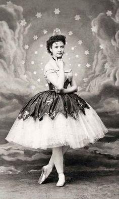 Photo Print Woman in Ballet Dress Ballerina 1860s Repro   eBay