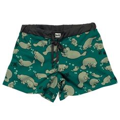 These comfy pajama shorts. | 19 Incredibly Cute Products For Everyone Who Loves Manatees