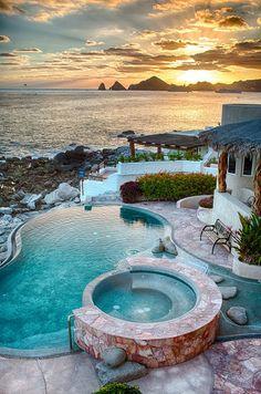 Cabo San Lucas Villa Rental Photos and Description 6 Bedroom 5,000 Square Foot Villa Appointed in style with Ocean views.