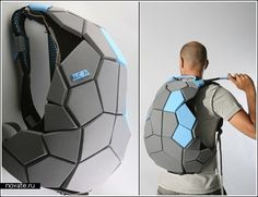 Рюкзак для ниндзя, мечтающих о панцире