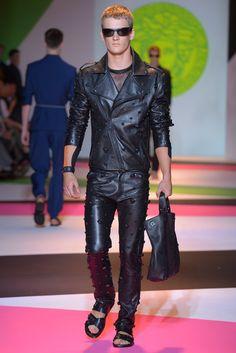 Versace Men's RTW Spring 2014 - Slideshow
