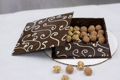Chocolate box of truffles