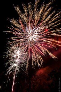 Firework in Leuven, via Flickr.