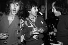 George with Eric Idle and Stuart Lerner Photo: Carinthia West  from Meet The Beatles For Real blog