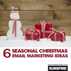 6 Super Easy Christmas Email Marketing Ideas   #email #marketing #christmas