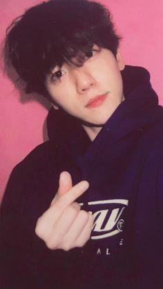 Can u staph Baekhyun, K Pop, Kai, Exo Lockscreen, Xiuchen, League Gaming, Exo Members, Chanbaek, High Collar