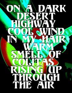 The Eagles- Hotel California Lyrics I Love Music, Music Is Life, The Eagles, Eagles Band, Eagles Lyrics, Eagles Music, Beste Songs, Las Vegas, It's All Happening