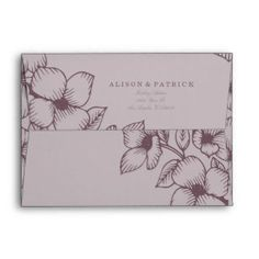 Shop Modern Grey Floral Wedding Envelope created by MetroEvents. Floral Wedding Envelopes, Charcoal Wedding, Custom Printed Envelopes, Wedding Designs, Thank You Cards, How To Draw Hands, Wedding Invitations, Wedding Day, Grey