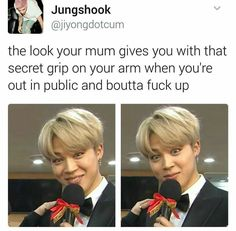 BTS| Lmao, this is so my mom