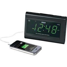 "Clock Radio 1.4"""" Display With Usb"