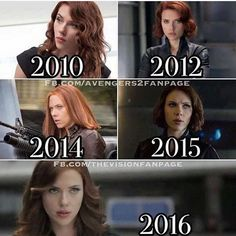 Personally, I think her Iron Man 2 and Civil War style is the best  what about you? | #civilwar #blackwidow #ironman #captainamerica #marvel #hero #comics | credit to @.avengers2fanpage and @.thevisionfanpage |