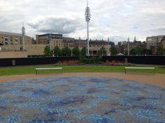 Garden within a Garden by Imran Qureshi at City Park #Bradford #1418now
