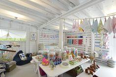 shop interior- Serena & Lily, Long Island