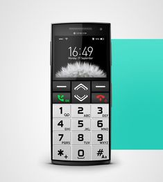 Telefon dla seniora, phone for the senior, Telefon für den Senior