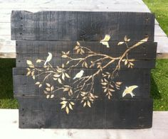 How to Make Stained Wood Pallet Wall Art - Snapguide