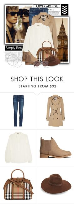 """Winter Essentials"" by julia463 ❤ liked on Polyvore featuring Burberry, AG Adriano Goldschmied, Zeus+Dione, H&M, Lack of Color and Fendi"