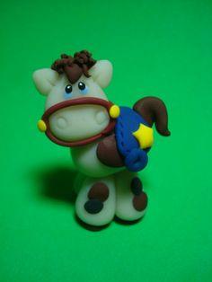 *CLAY ~ Horse Clay Figurine