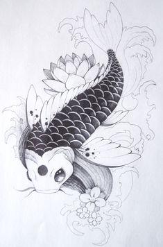 koi fish by hundurr