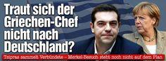 Tsipras sammelt seine Verbündeten - Traut sich der Griechen-Chef nicht nach Deutschland? US-Präsident Obama zeigt Verständnis für griechischen Anti-Sparkurs http://www.bild.de/politik/ausland/griechenland/tsipras-sammelt-seine-verbuendeten-39597774.bild.html