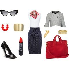 Nouveau Flight Attendent, created by wimzie....just like the clothes minus the jewelry