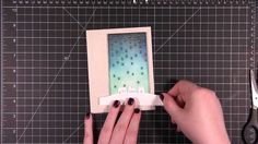 cardmaking video tutorial: May You Be Blessed (plus Falling Stars die TIPS)