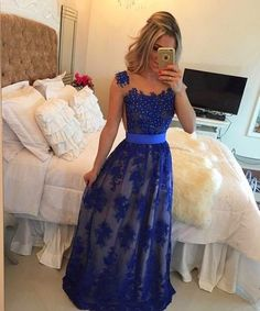 Backless Prom Dresses Royal Blue Prom Dress Backless Formal Gown Open Back Prom Dresses Open Backs Evening Gowns Lace Formal Gown For Teens Open Back Evening Gown, Royal Blue Evening Dress, Royal Blue Prom Dresses, Open Back Prom Dresses, Lace Evening Gowns, Cheap Homecoming Dresses, Prom Dresses 2017, Backless Prom Dresses, Formal Evening Dresses