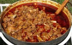 Karcagi birkapörkölt hungarikum lett - The hungarian Karcagi lamb stew became… Hungarian Cuisine, Hungarian Recipes, Hungarian Food, Soup Recipes, Cooking Recipes, Lamb Stew, One Pot Meals, Soup And Salad, Food Preparation