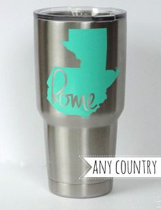 Custom home {any country} Decal for Tumbler