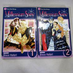 Millennium Snow Lot of 2 Books Volume 1 2 Bisco Hatori Manga English