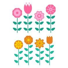Flowers Garden Cuttable Design Cut File. Vector, Clipart, Digital Scrapbooking Download, Available in JPEG, PDF, EPS, DXF and SVG. Works with Cricut, Design Space, Cuts A Lot, Make the Cut!, Inkscape, CorelDraw, Adobe Illustrator, Silhouette Cameo, Brother ScanNCut and other software.