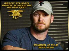 Chris Kyle, American hero.