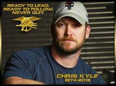 Chris Kyle, American hero.