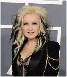 wow - I didn't know cyndi lauper was my age... oh if only I could sing
