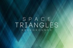 Space Triangles Backgrounds by themefire